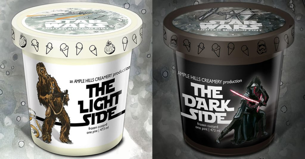 The official Star Wars Ice Cream