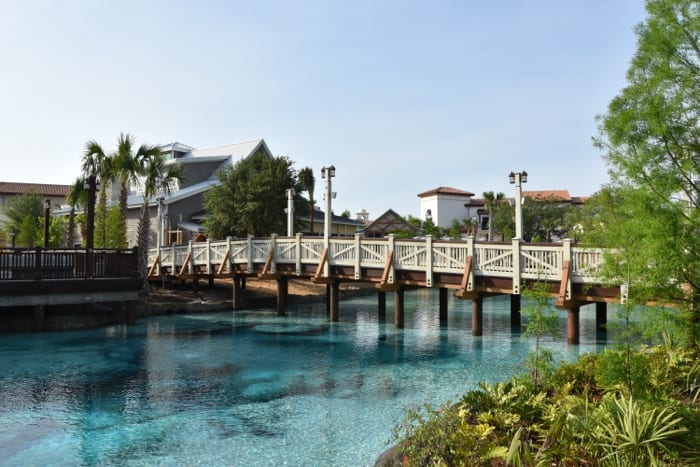 disney springs bridge