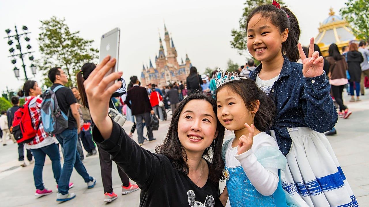 Shanghai disneyland opens