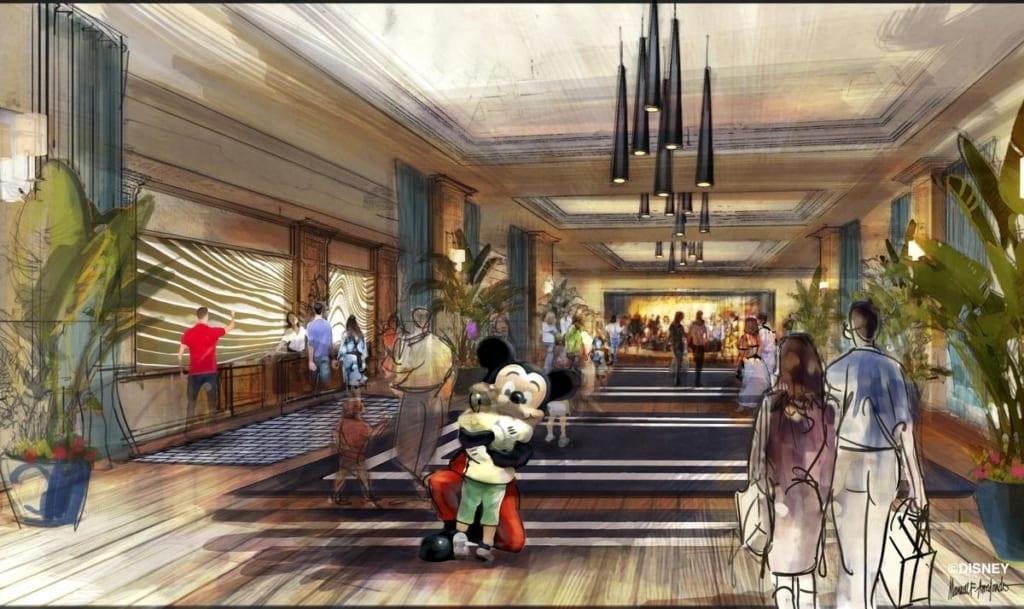 Disneyland new luxury hotel concept art