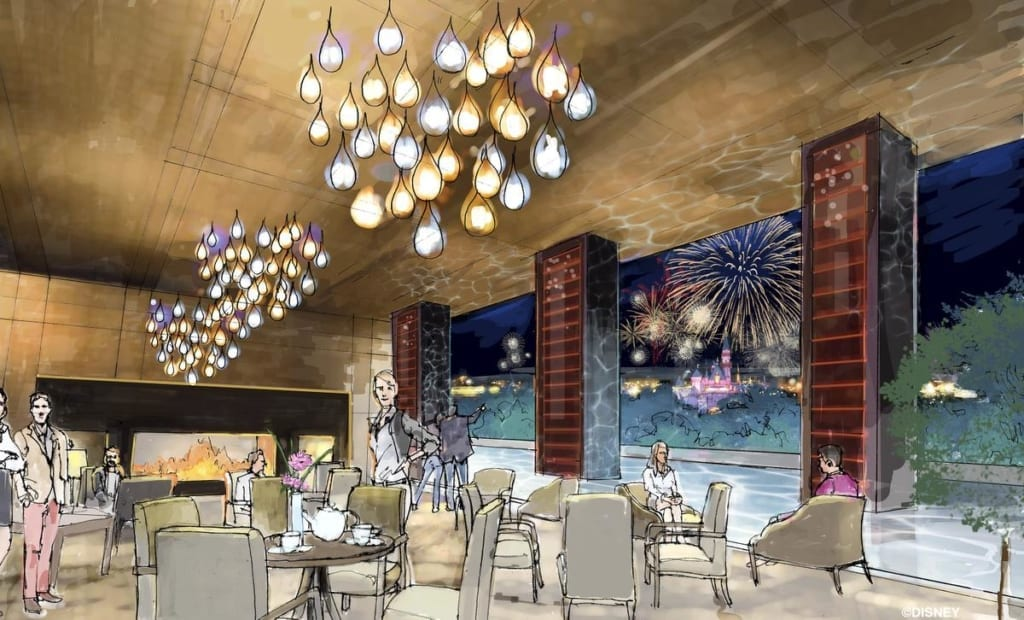 disneyland luxury hotel concept art