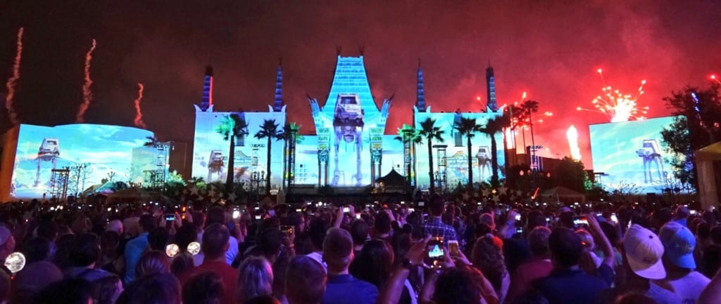 Star Wars: A Galactic Spectacular Dessert Party Moving, Additions to the Show