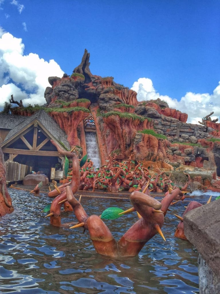 Splash Mountain Closing in August