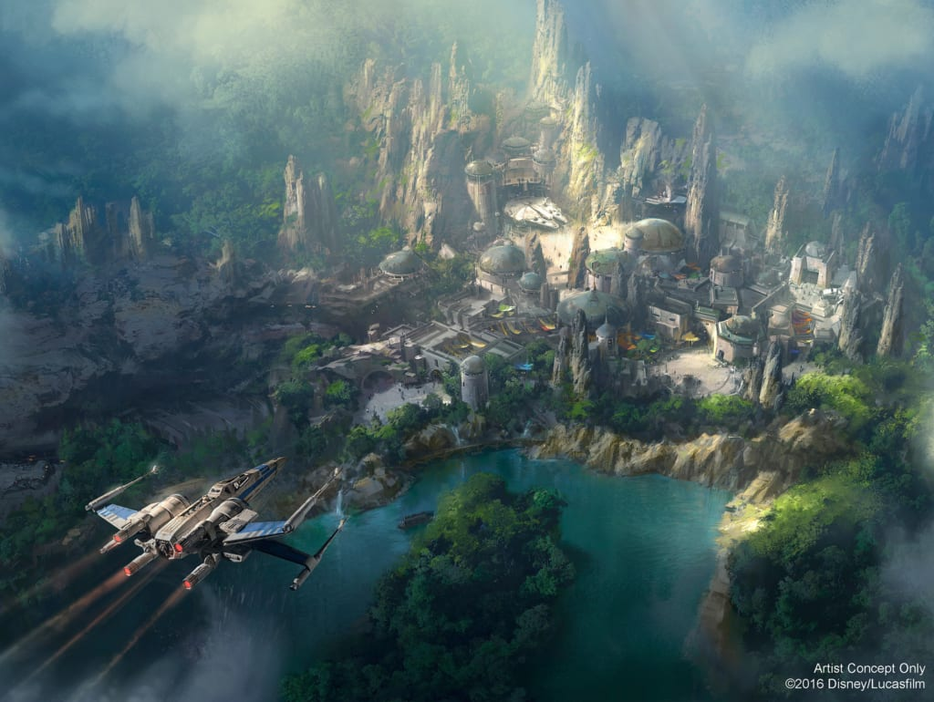 New Star Wars Land Concept Art