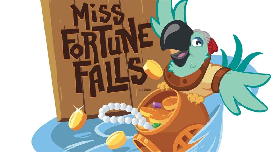 New Attraction Miss Fortune Falls Coming to Typhoon Lagoon