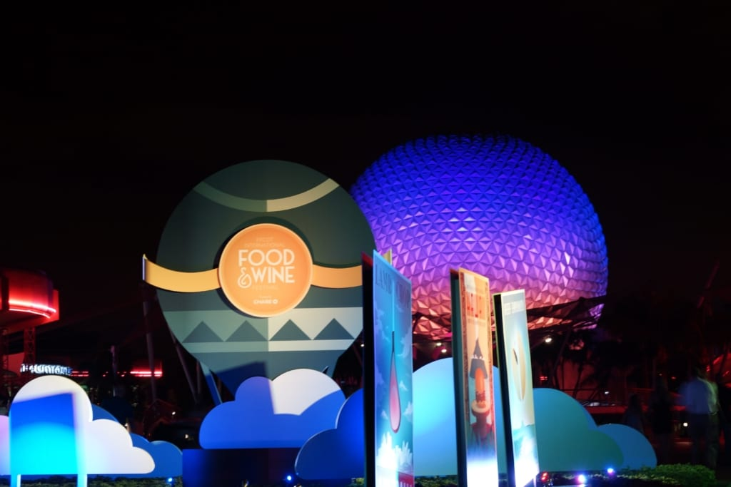 Food and Wine 2016, spaceship earth