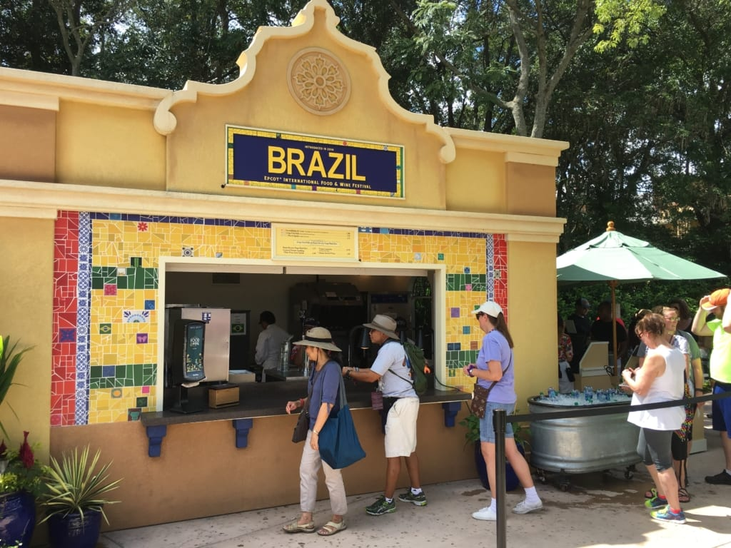 Brazil Review: 2016 Epcot Food and Wine Festival