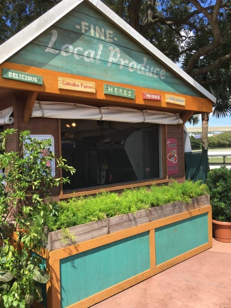 2016 Epcot Food and Wine Festival, farm fresh