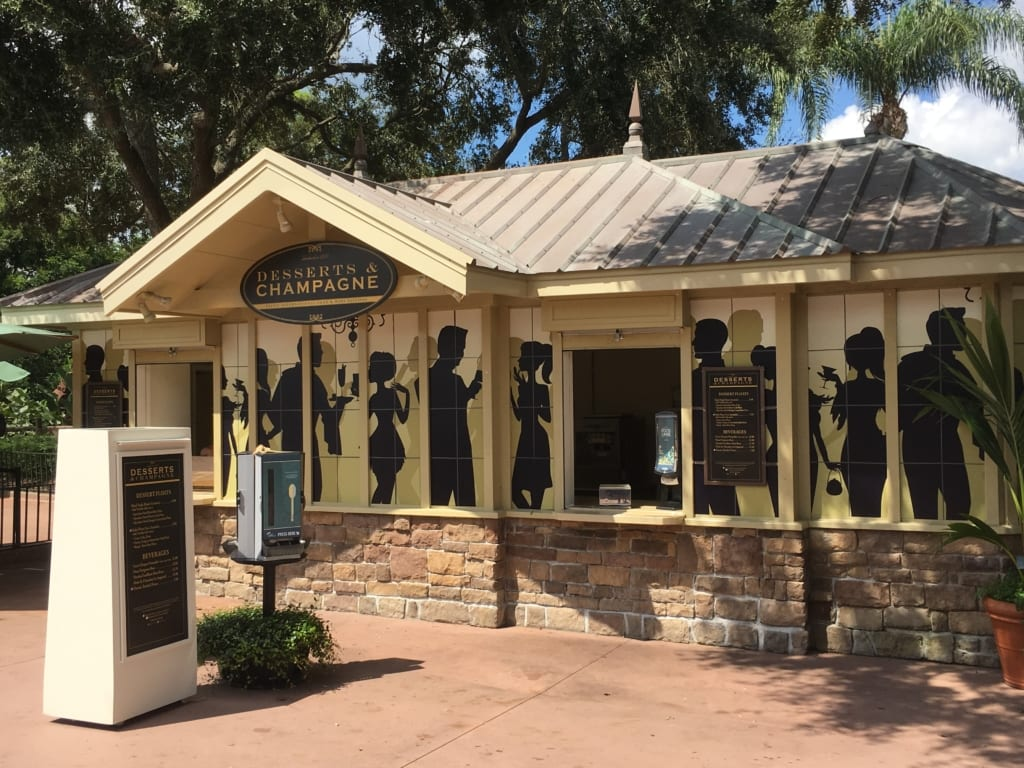 Desserts and Champagne Review: 2016 Epcot Food and Wine Festival