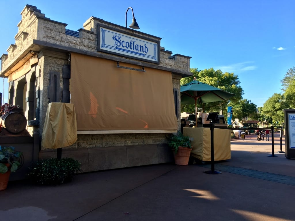 Scotland Review: 2016 Epcot Food and Wine Festival
