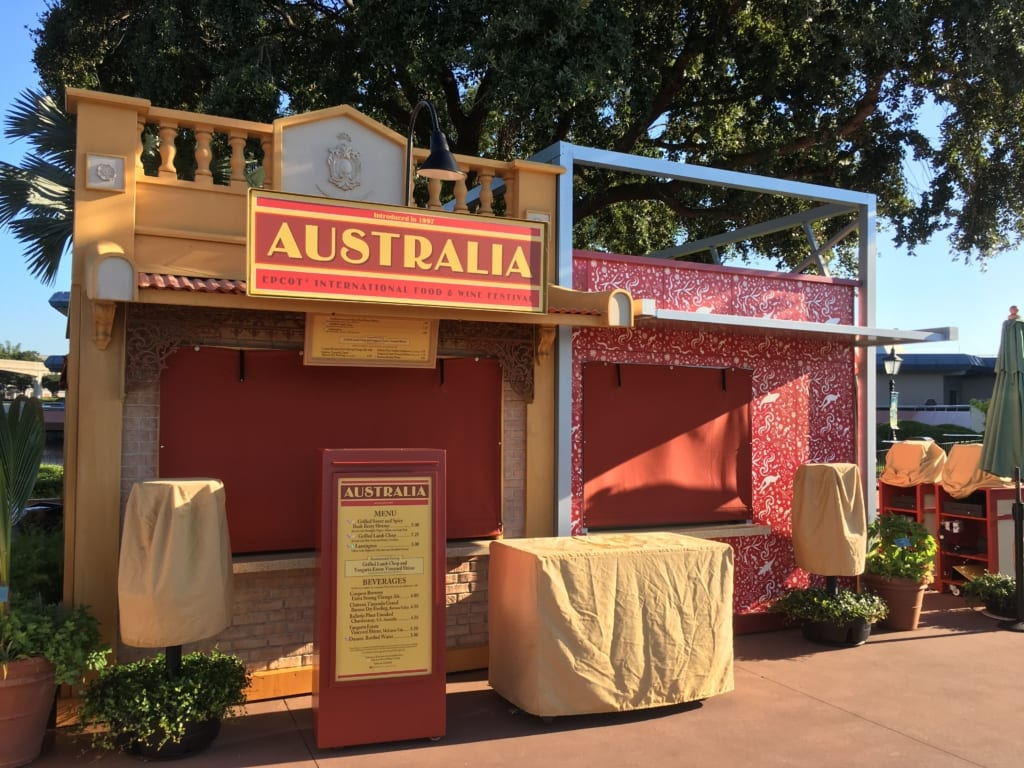 Food and wine 2016, australia, Australia Review - 2016 Epcot Food and Wine Festival