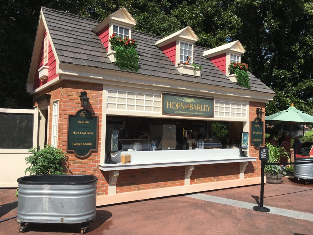 Hops and Barley Review: 2016 Epcot Food and Wine Festival