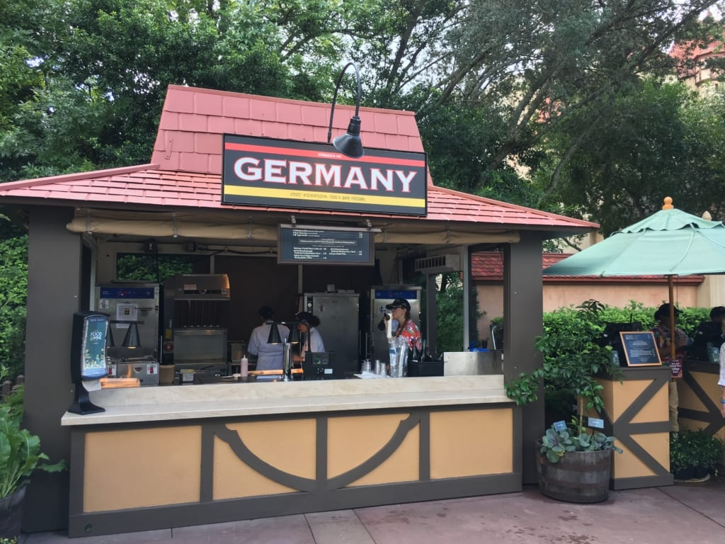Germany Review: 2016 Epcot Food and Wine Festival