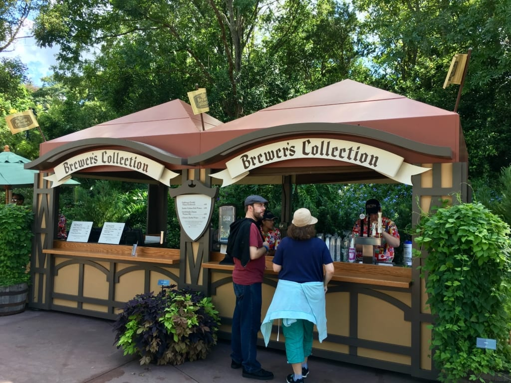 Pomegranate Beer Review 2017 Epcot Food and Wine Festival Brewer's Collection Booth