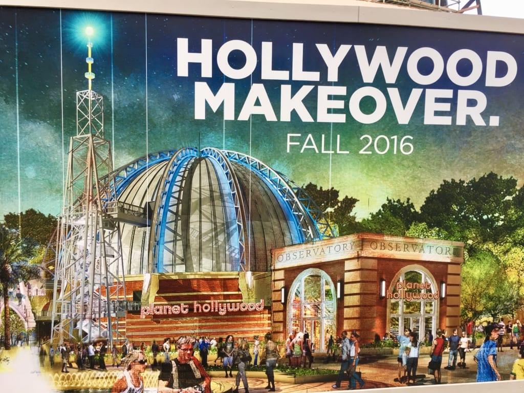 Planet Hollywood Observatory progress 4