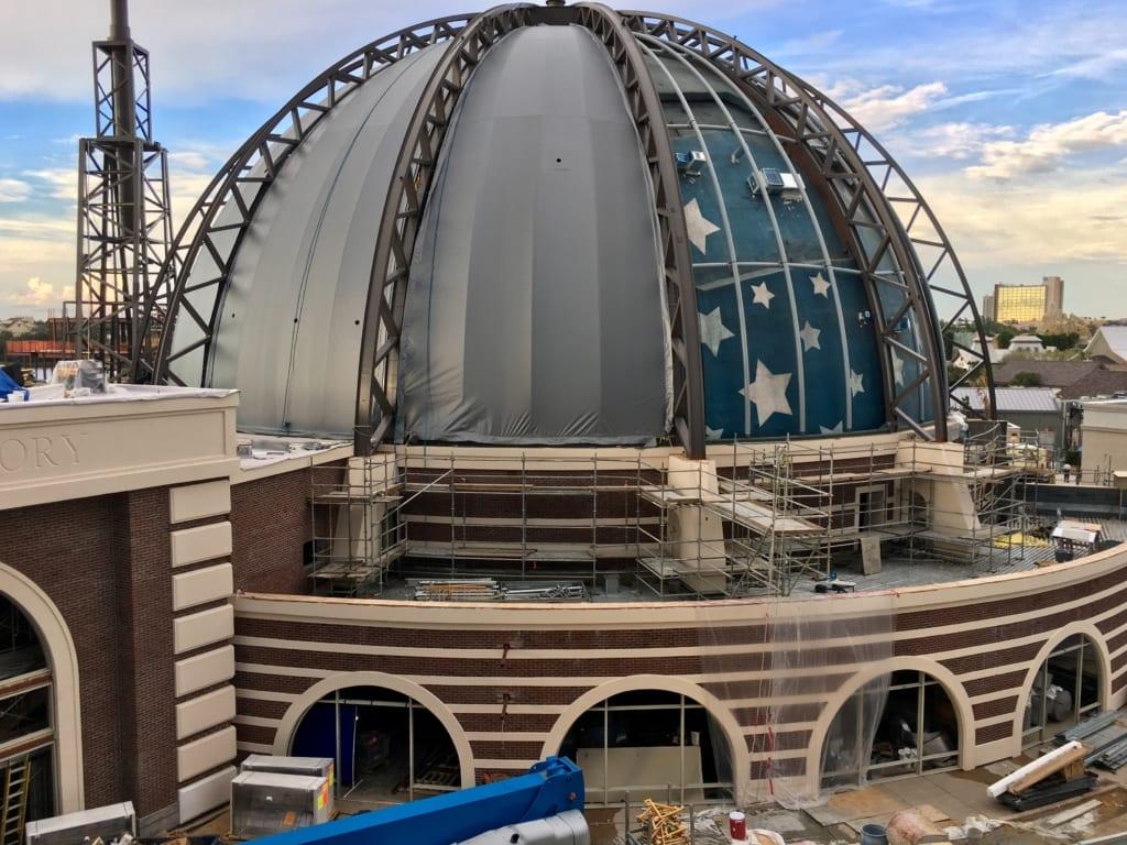 Planet Hollywood Observatory Menu Details