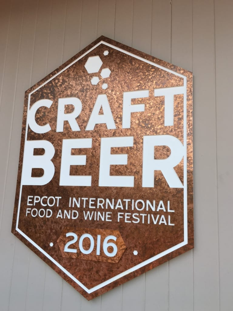 Craft Beer Review: 2016 Epcot Food and Wine Festival