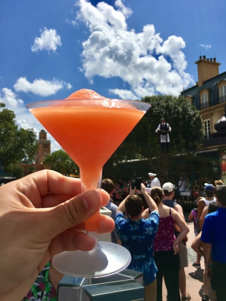 Epcot Food and Wine Festival Tips la passion martini