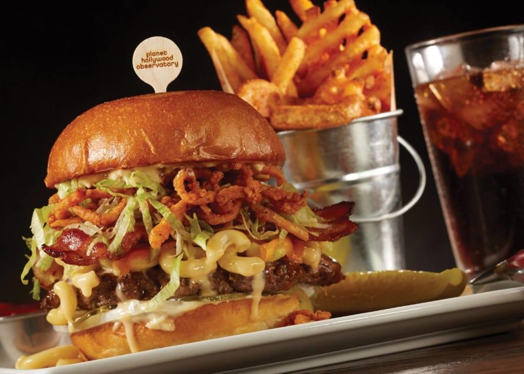 Planet Hollywood Observatory Burger