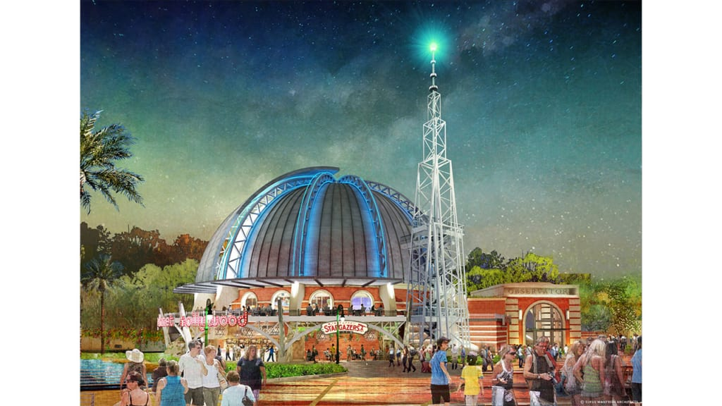 Planet Hollywood Observatory Now Open