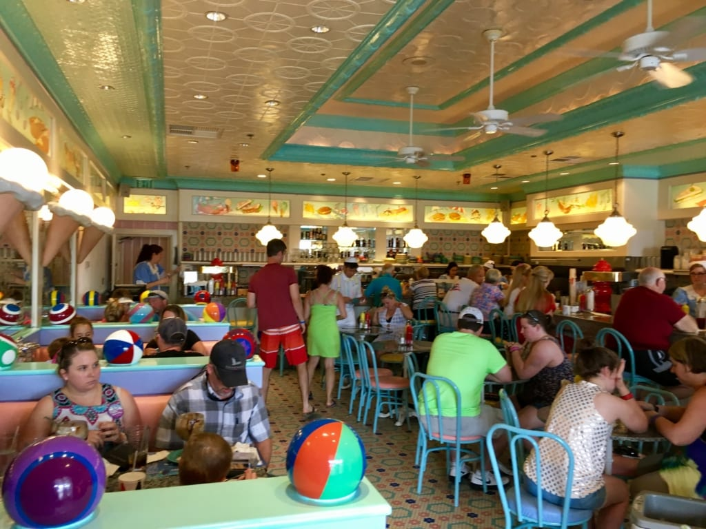 Beaches and Cream interior