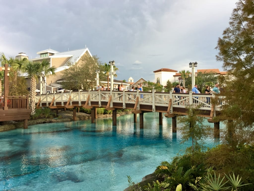 Disney Springs Bridge