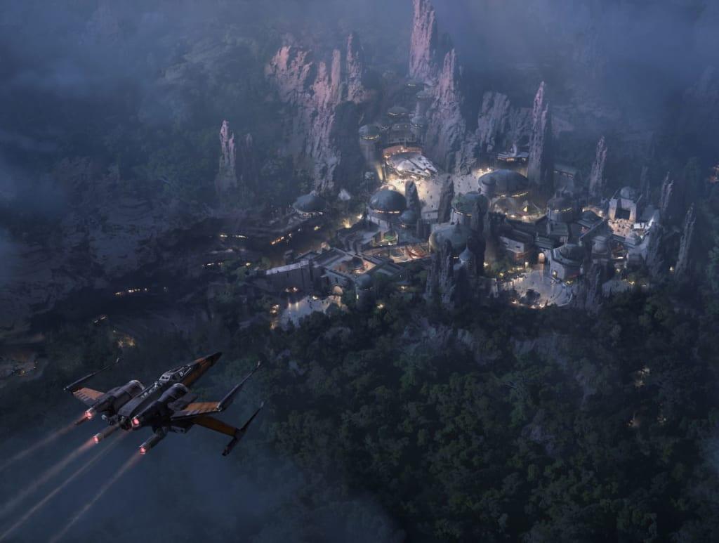 Star Wars Land Update
