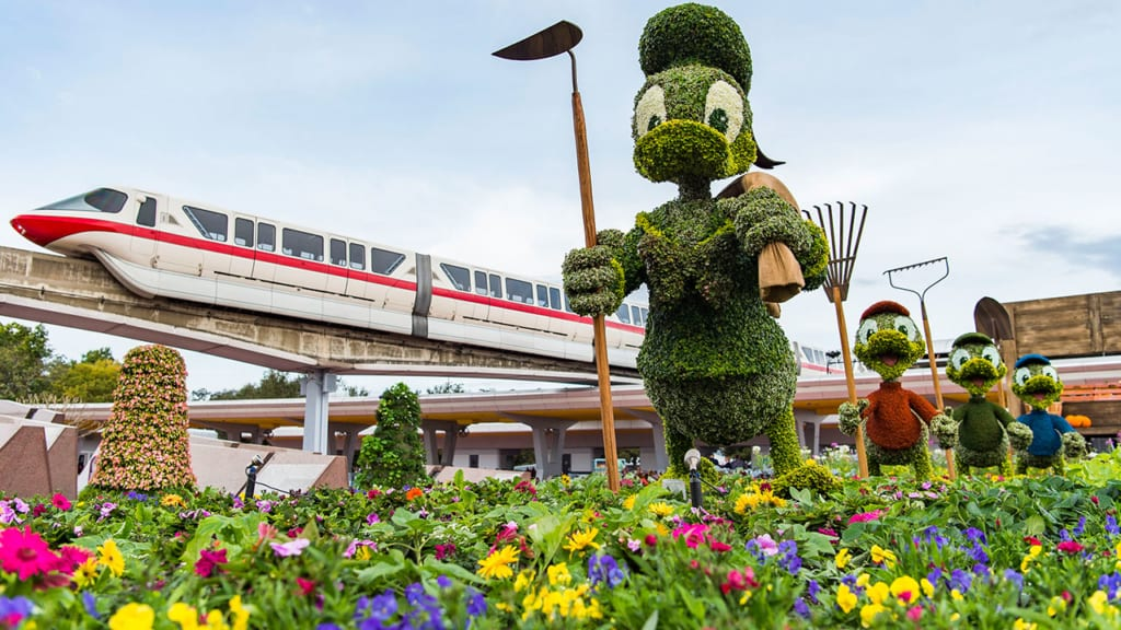 2018 Epcot Flower and Garden Festival Dates Announced