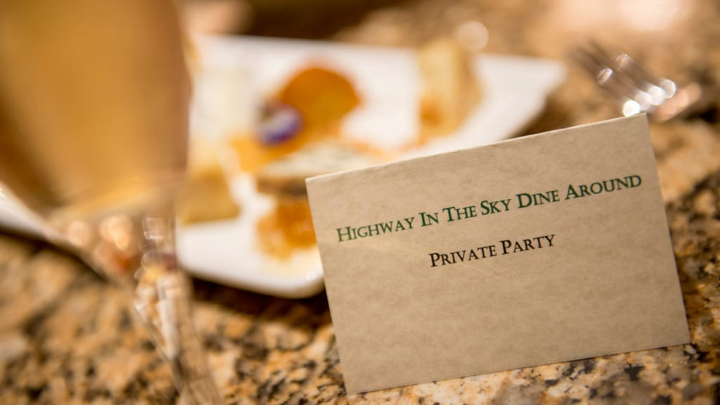 """Highway in the Sky Dine Around"" Dining Experience Coming to Magic Kingdom Loop"
