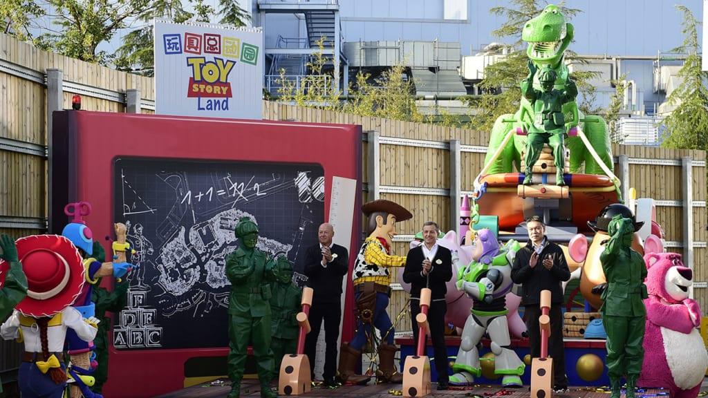 Toy Story Land Expansion Shanghai Disneyland