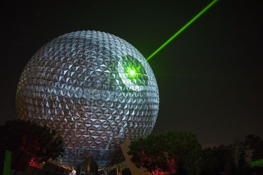 Spaceship Earth Transforms to Death Star
