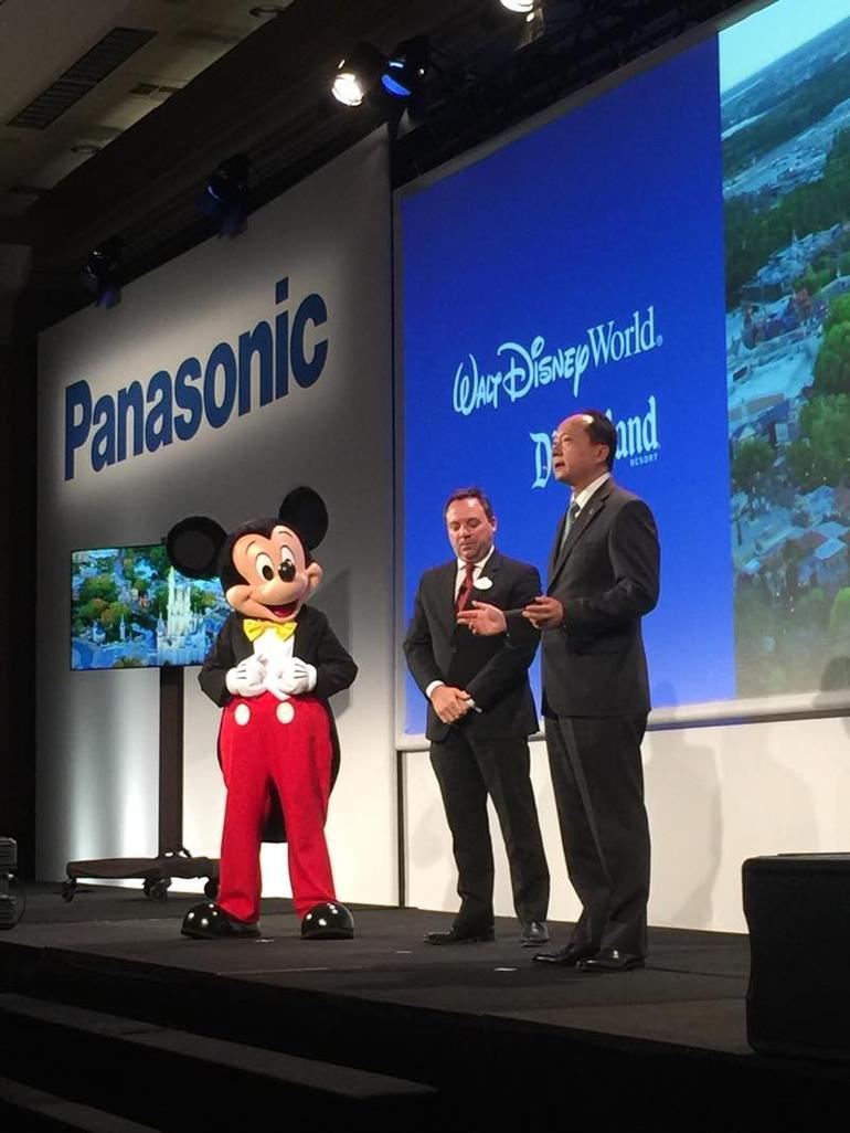 Disney Teams up with Panasonic