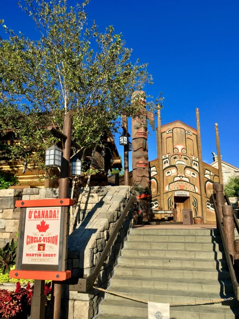 Canada Pavilion Totem