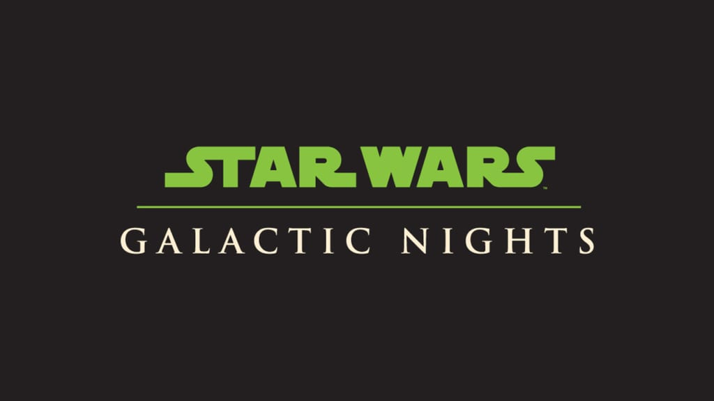 Star Wars Galactic Nights Schedule