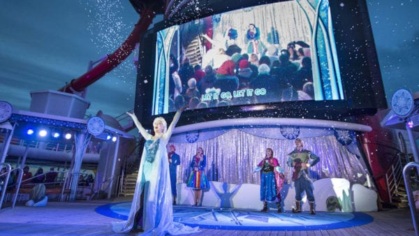 Disney Cruise Frozen Celebration