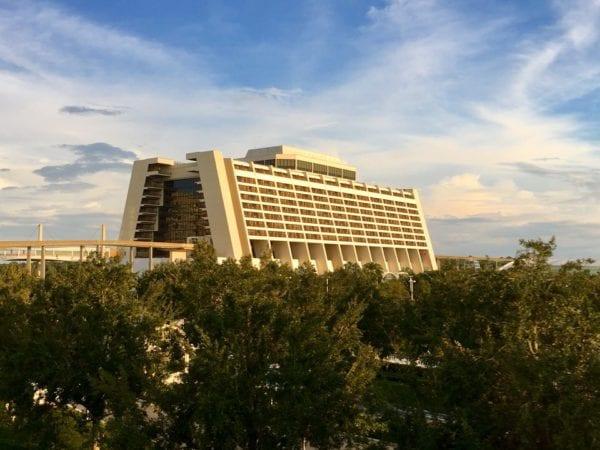 Walt Disney World Contemporary Resort distance