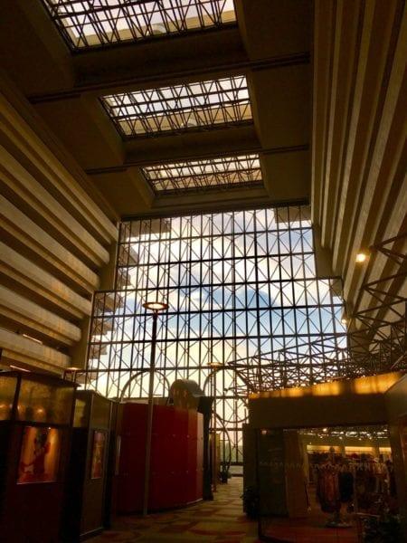 Walt Disney World Contemporary Resort inside atrium