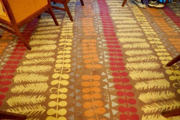California Grill dining room carpet