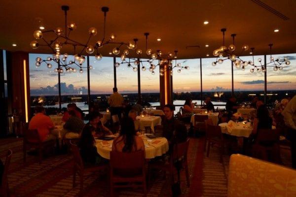 California Grill Main Dining Room lights