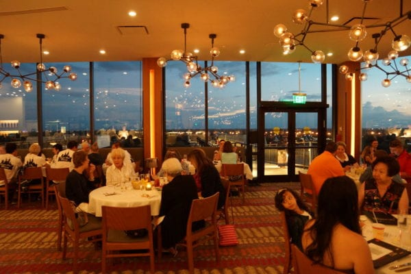 California Grill Main Dining Room Sunset