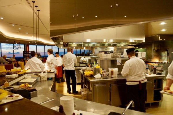 California Grill Review Open Kitchen Side