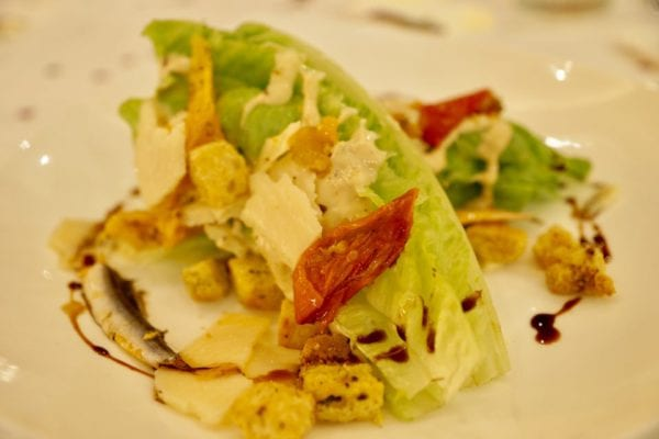 California Grill Review Artisan Romaine