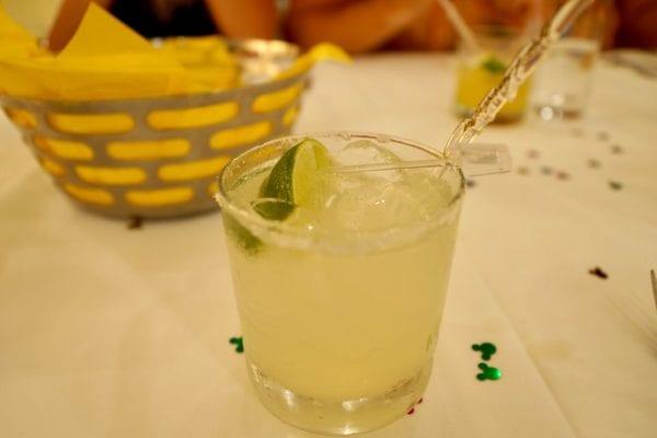 California Grill Review Margarita