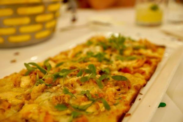 California Grill Review Rotisserie Chicken Flatbread