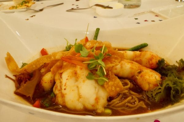 California Grill Review Seafood Ramen