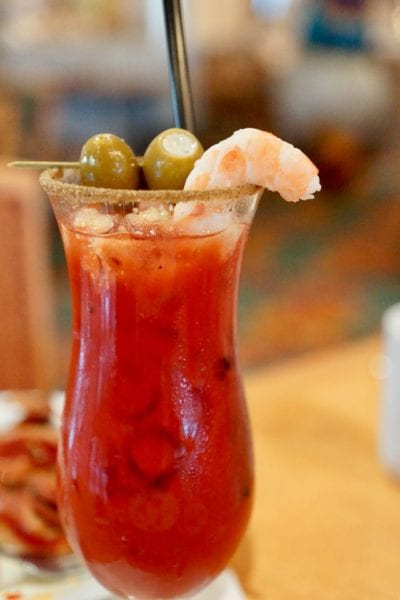 Cape May Cafe Breakfast Review bloody mary close
