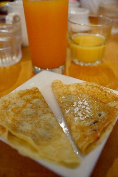 Cape May Cafe Breakfast Review crepes