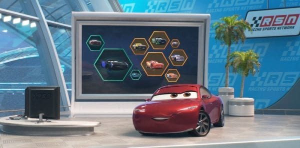 New Cars 3 Characters And Poster