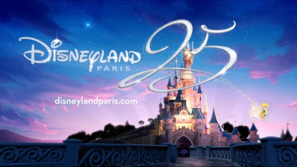 Disneyland Paris 25th Anniversary