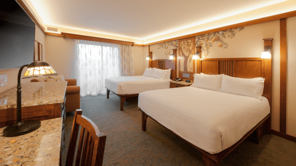 Disney's Grand Californian Hotel Remodeled